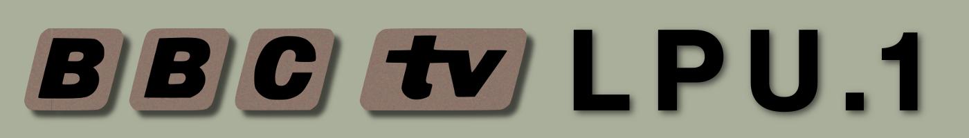 BBC TV LPU1